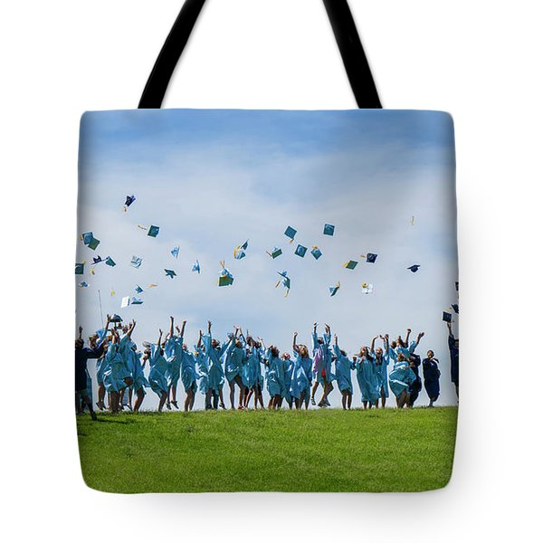 Graduation Day Tote Bag by Alan Toepfer