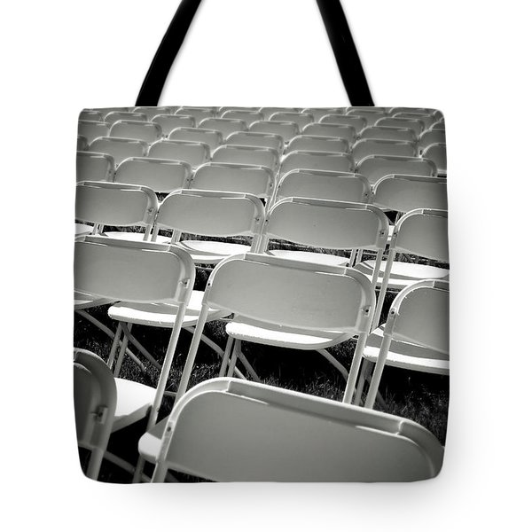 Graduation Day- Black And White Photography By Linda Woods Tote Bag by Linda Woods