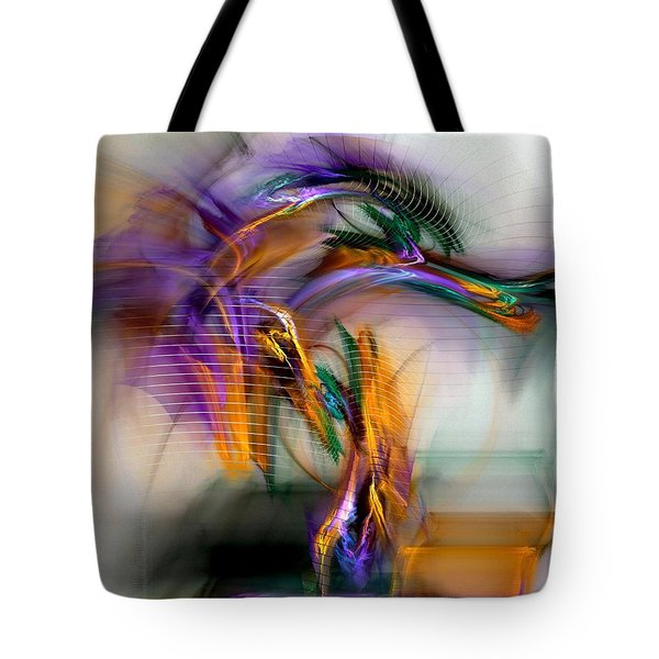 Graffiti - Fractal Art Tote Bag