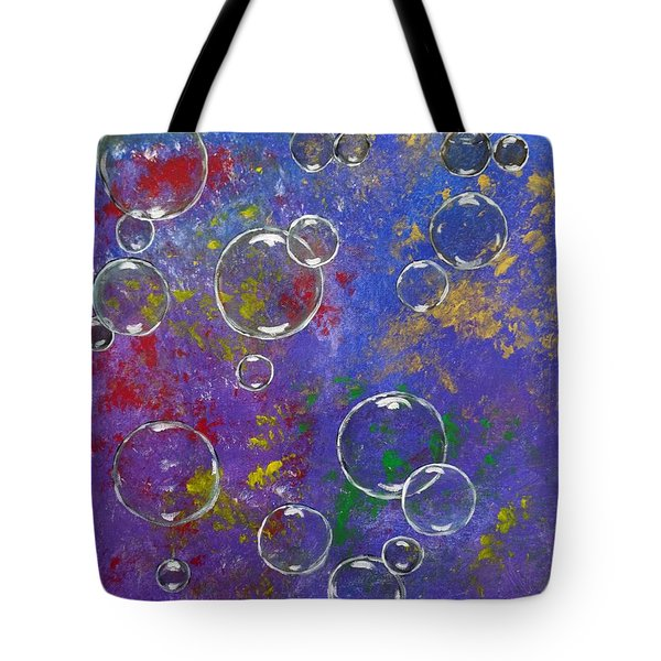 Graffiti Bubbles Tote Bag