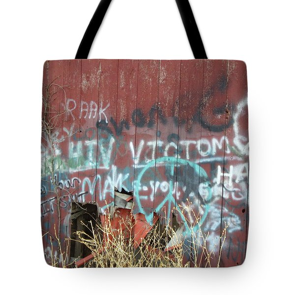 Graffiti Tote Bag by Cynthia Lassiter