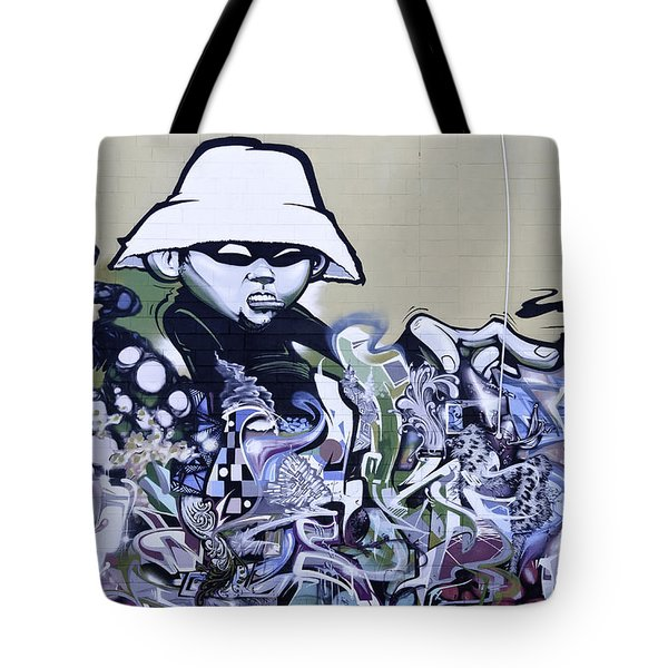 Graffiti Girl Tote Bag