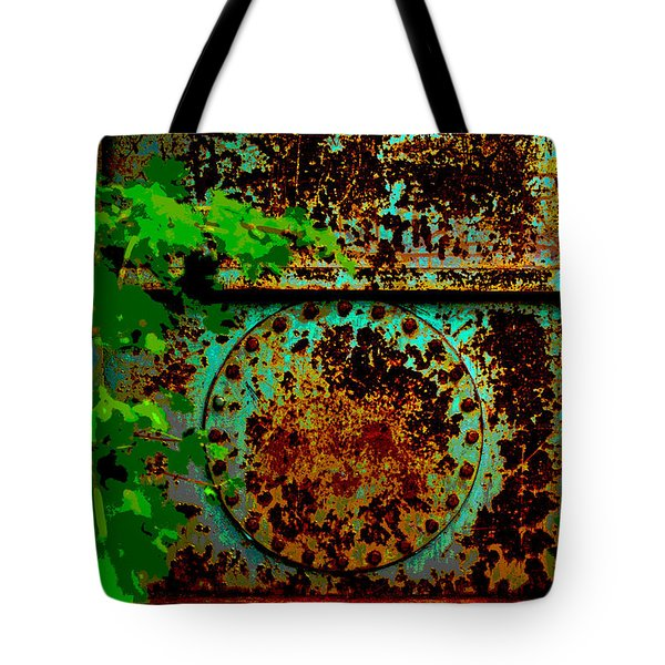 Graffiti In The Forest Tote Bag