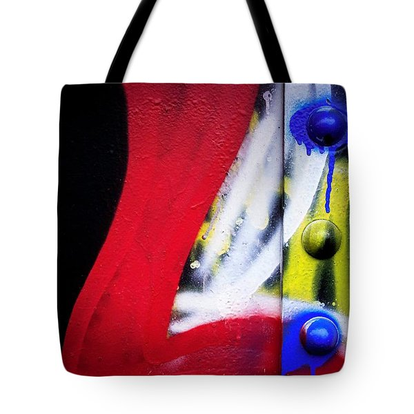 Graffiti On Iron Tote Bag