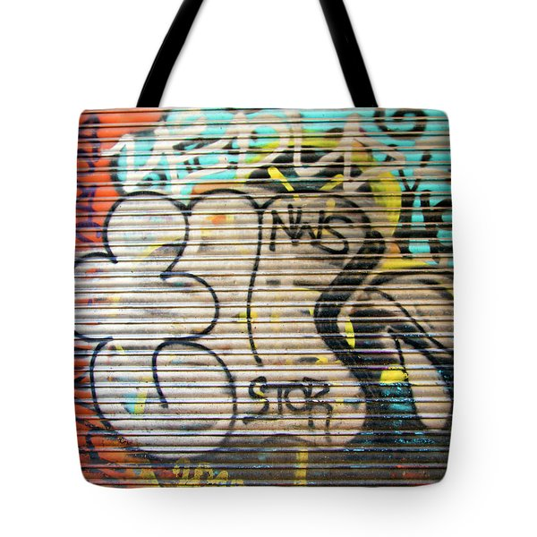 Graffiti Spain Barcelona  Tote Bag