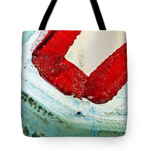 Graffiti Texture IIi Tote Bag by Ray Laskowitz - Printscapes