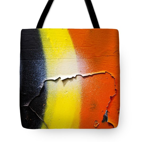 Graffiti Texture Iv Tote Bag by Ray Laskowitz - Printscapes