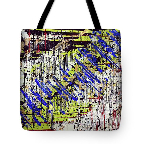 Graffitti Tote Bag by Cathy Beharriell