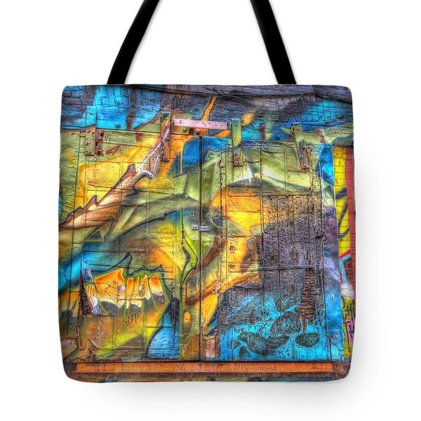 Grafiti Window Tote Bag