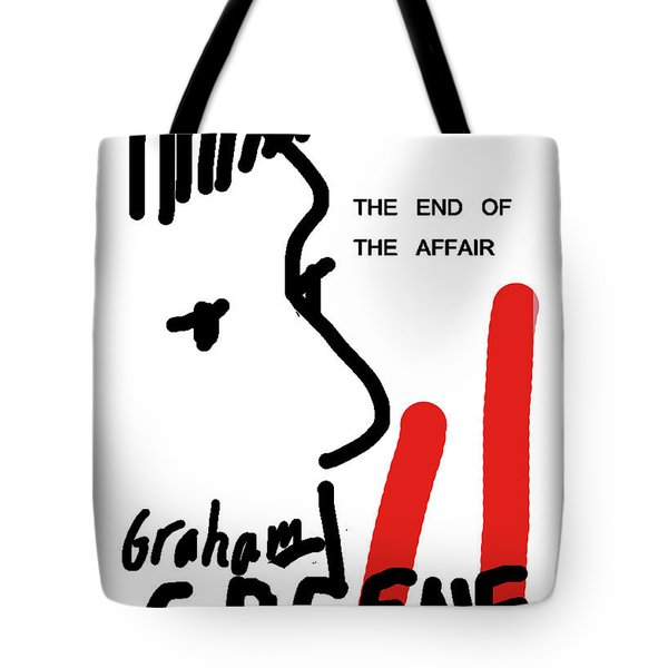 Graham Greene End Of Affair  Tote Bag