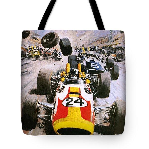 Graham Hill Tote Bag