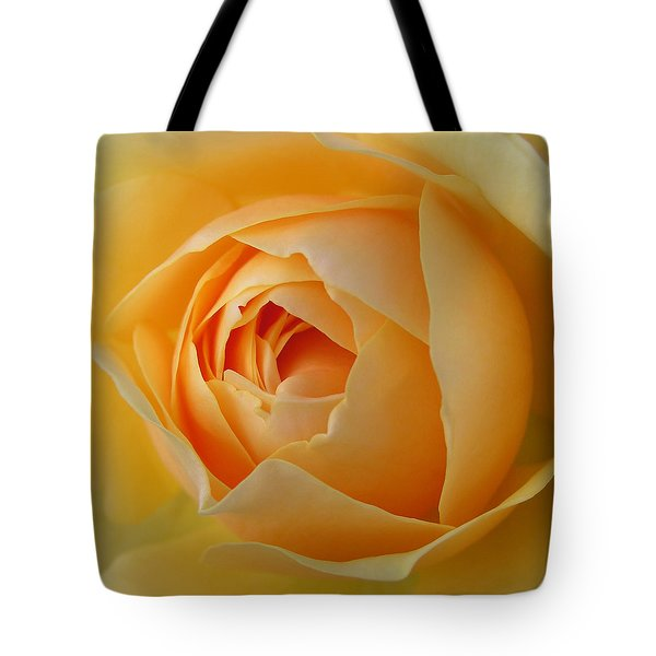 Tote Bag featuring the photograph Graham Thomas Old Fashioned Rose by Jocelyn Friis