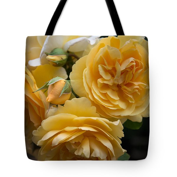 Tote Bag featuring the photograph Graham Thomas Rose by Jocelyn Friis