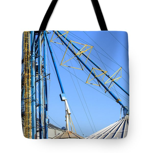 Grain Bins Tote Bag