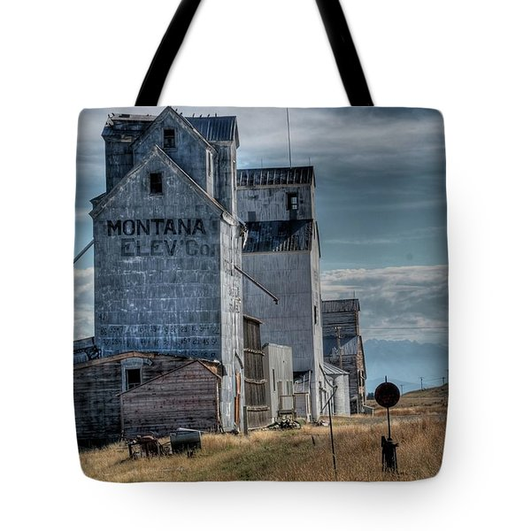 Grain Elevators, Wilsall Tote Bag