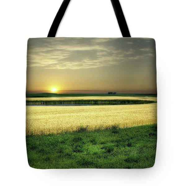 Grain Field Tote Bag