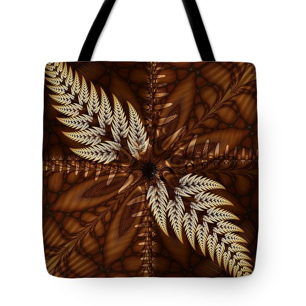 Tote Bag featuring the digital art Grain Harvest by Michelle H