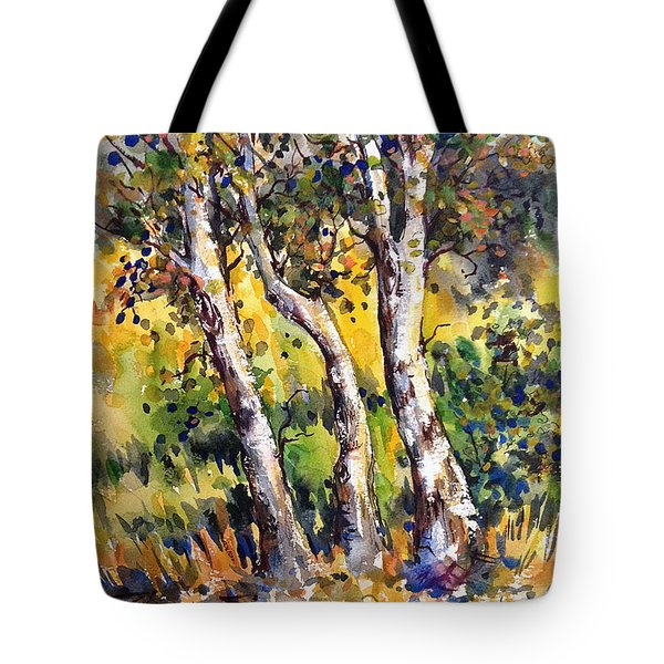 Grainery Poplars Tote Bag