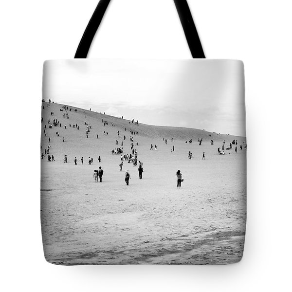 Grains Of Sand Tote Bag by Hayato Matsumoto