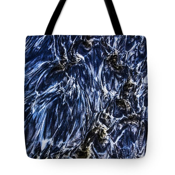 Grainy Sands And Sea Water Tote Bag