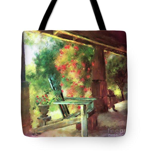 Gramma's Front Porch Tote Bag