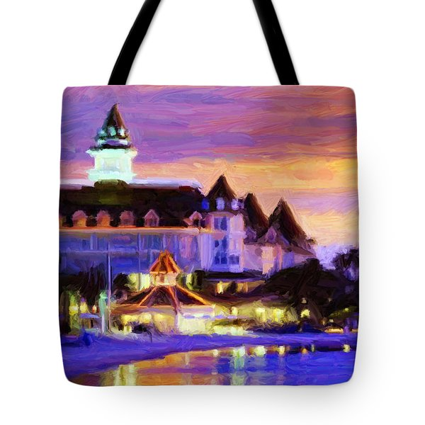 Grand Floridian Tote Bag