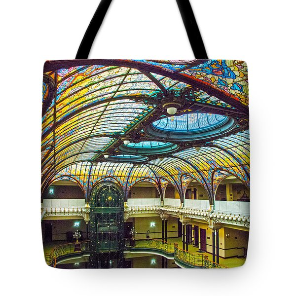 Gran Hotel Art Tote Bag