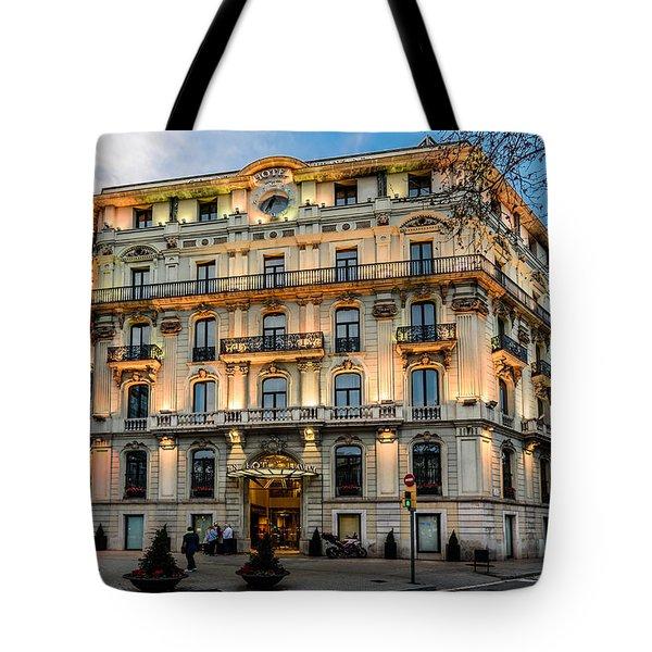 Gran Hotel Havana Tote Bag