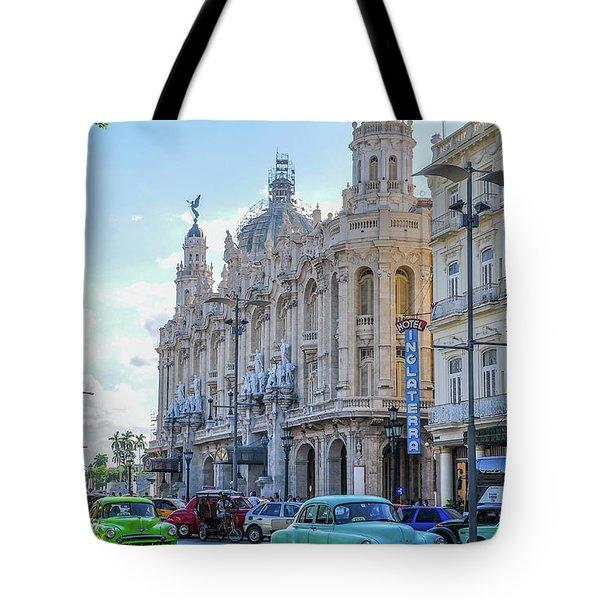 Gran Teatro De La Habana Tote Bag