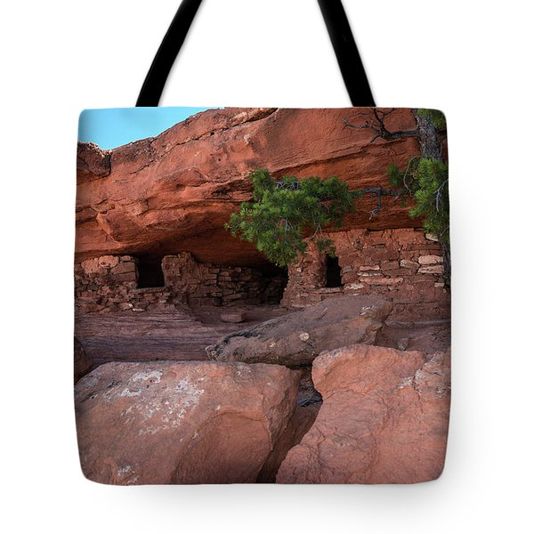 Granaries - 9697 Tote Bag