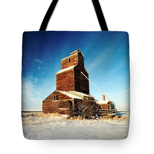 Tote Bag featuring the photograph Granary Chill by Todd Klassy