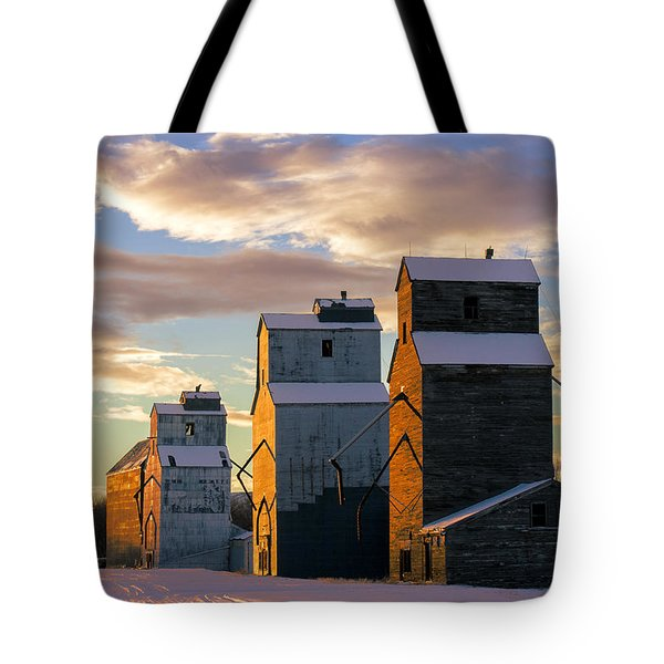 Tote Bag featuring the photograph Granary Row by Todd Klassy