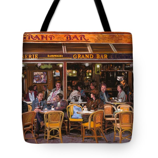 Grand Bar Tote Bag by Guido Borelli