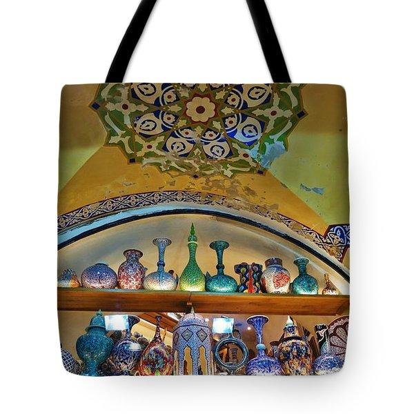 Grand Bazaar Istanbul Tote Bag