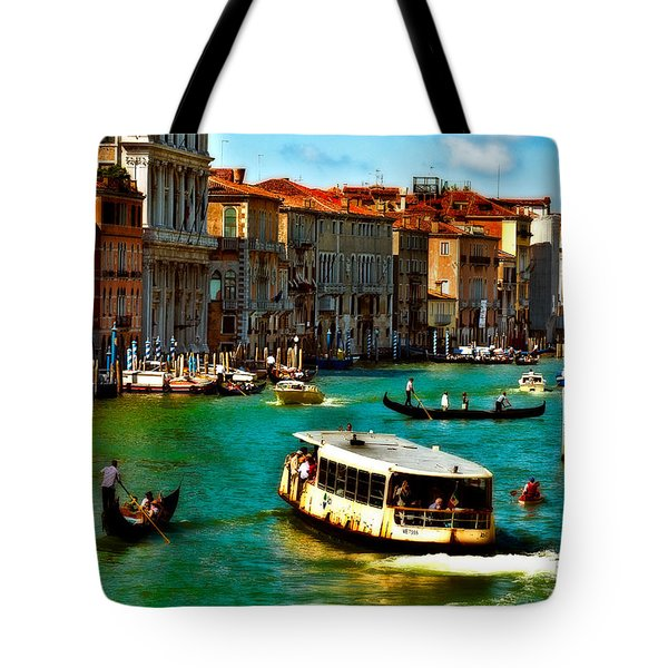 Grand Canal Daytime Tote Bag