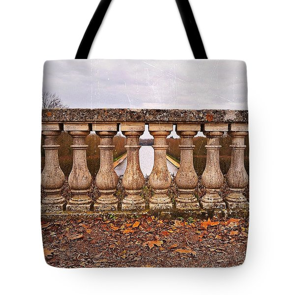 Grand Canal De Sceaux Tote Bag