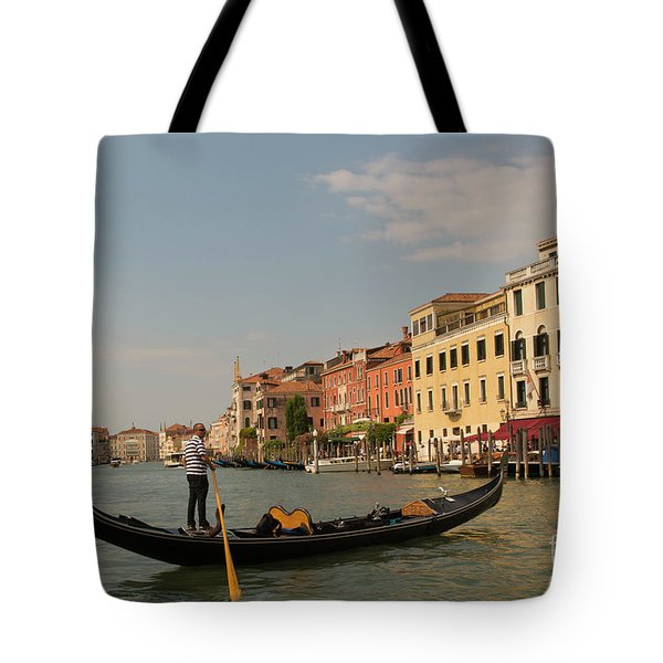 Grand Canal Gondola Tote Bag
