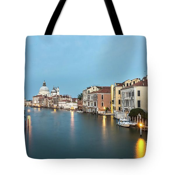Grand Canal In Venice, Italy Tote Bag