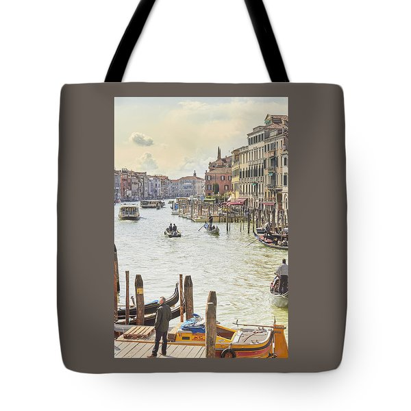 Grand Canal - The Most Famous Canal In Venice Tote Bag