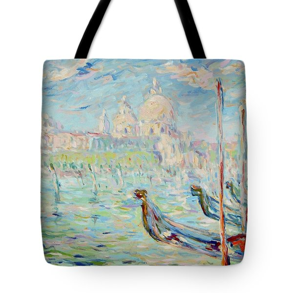 Grand Canal Venice Tote Bag by Pierre Van Dijk