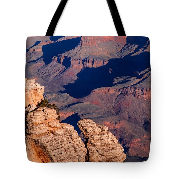 Tote Bag featuring the photograph Grand Canyon 21 by Donna Corless