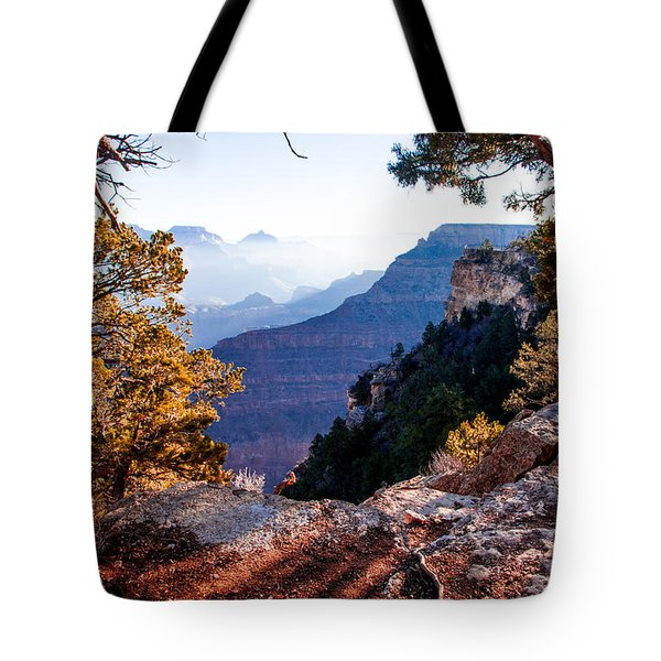 Tote Bag featuring the photograph Grand Canyon 26 by Donna Corless
