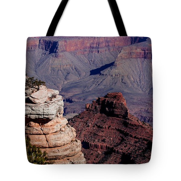 Tote Bag featuring the photograph Grand Canyon 3 by Donna Corless