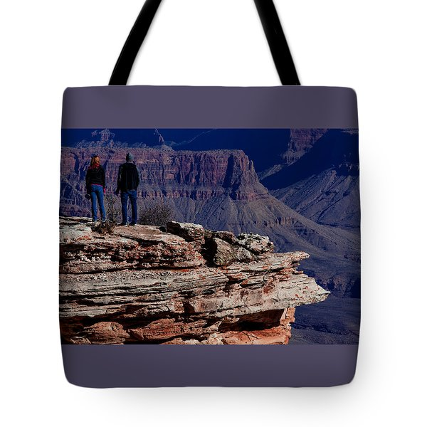 Tote Bag featuring the photograph Grand Canyon 5 by Donna Corless