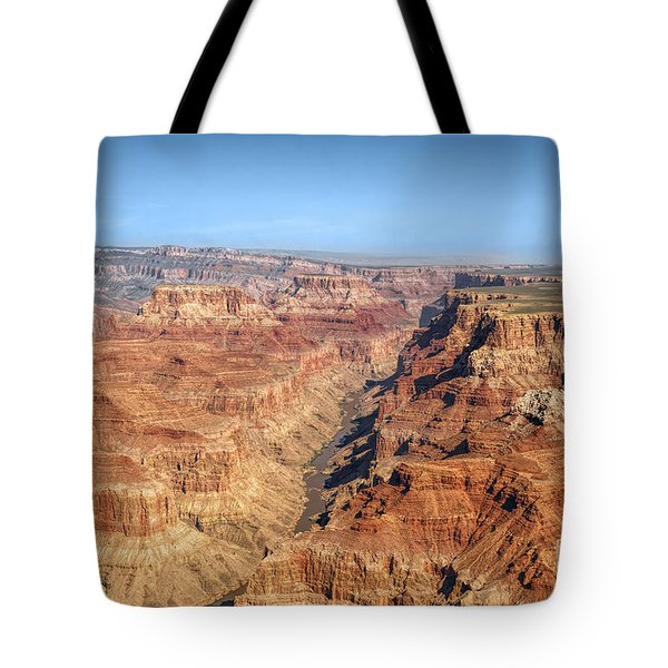 Grand Canyon Aerial View Tote Bag