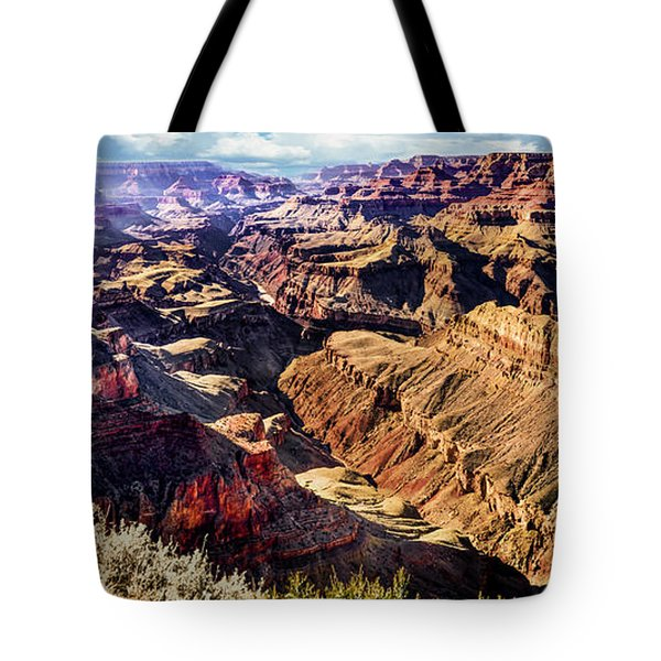 Grand Canyon Afternoon At Lipan Point Tote Bag