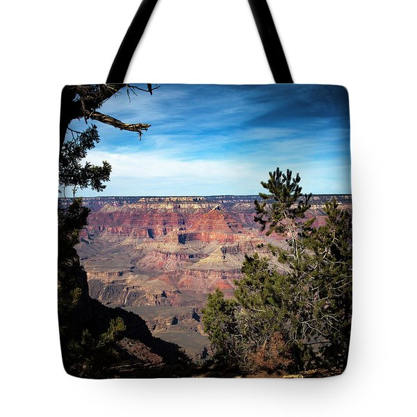 Grand Canyon, Arizona Usa Tote Bag by James Bethanis