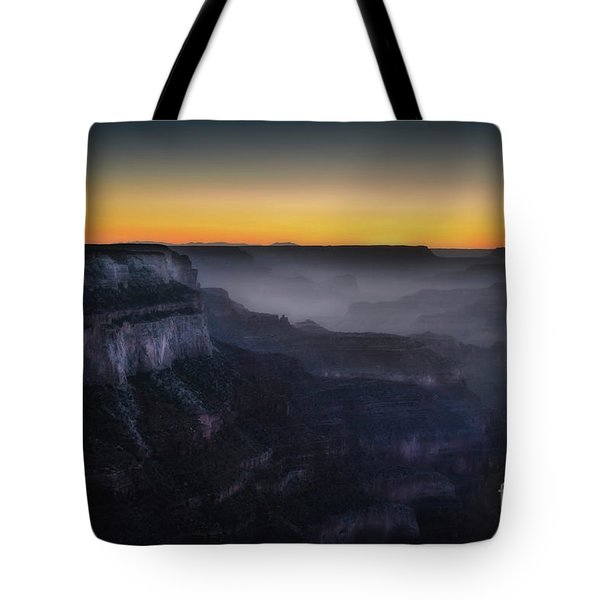 Grand Canyon At Twilight Tote Bag by RicardMN Photography