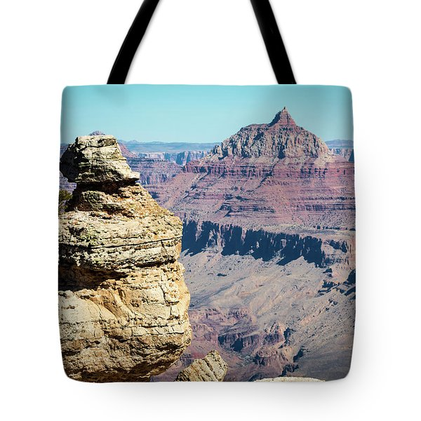 Grand Canyon Duck On A Rock Tote Bag