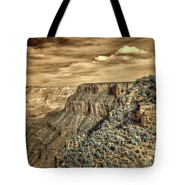 Grand Canyon In Infrared Tote Bag
